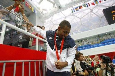 Cullen Jones USA Olympic Gold Medalist