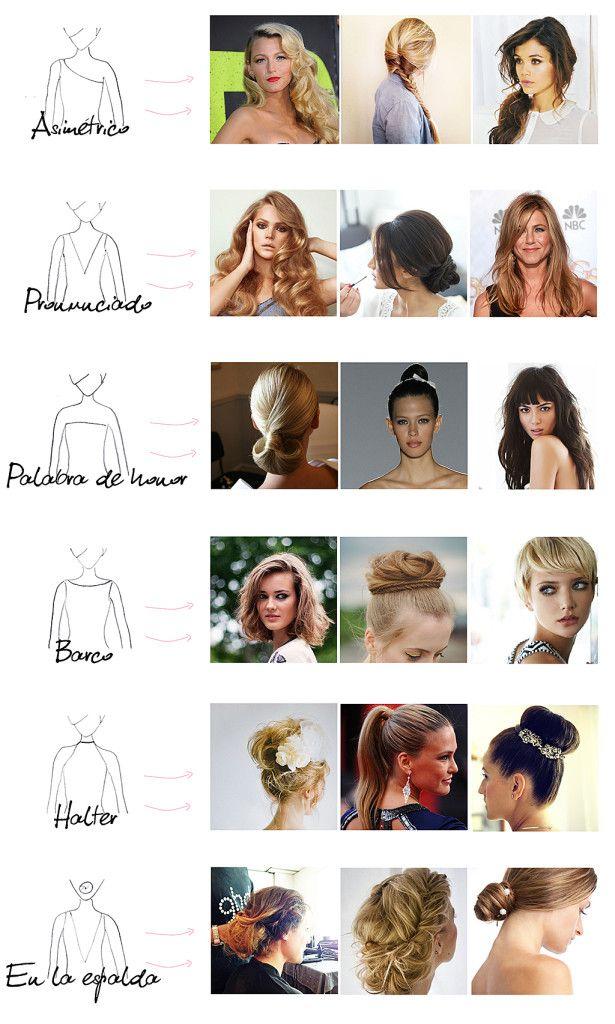 Peinados Según El Vestido - 21 Combinaciones Perfectas Entre Peinados Y Escotes Para Todos