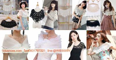 ชุดทำงานเสื้อลูกไม้เทรนด์เกาหลีใหม่ล่าสุดให้ผู้หญิงสวยหรูมาดคุณนายผู้ใหญ่ออกงาน