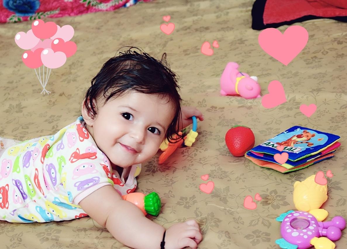 My baby Anaaya