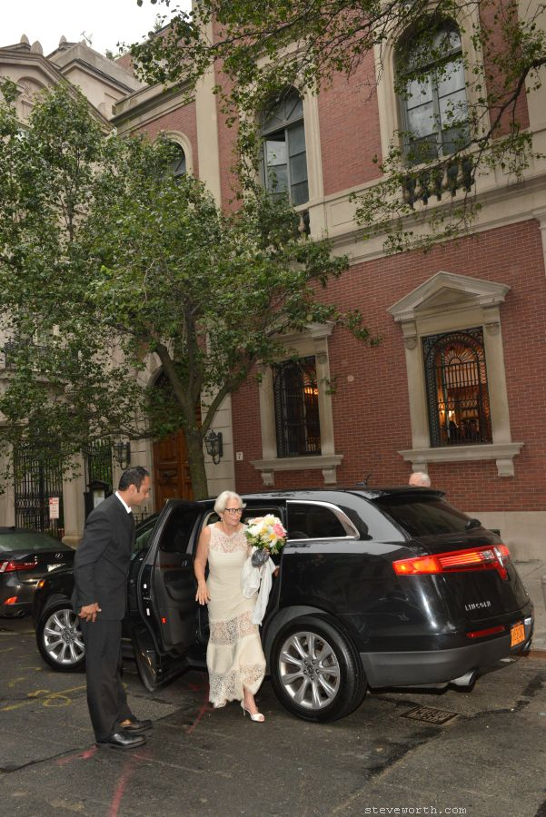Arrival at House of the Redeemer for Wedding