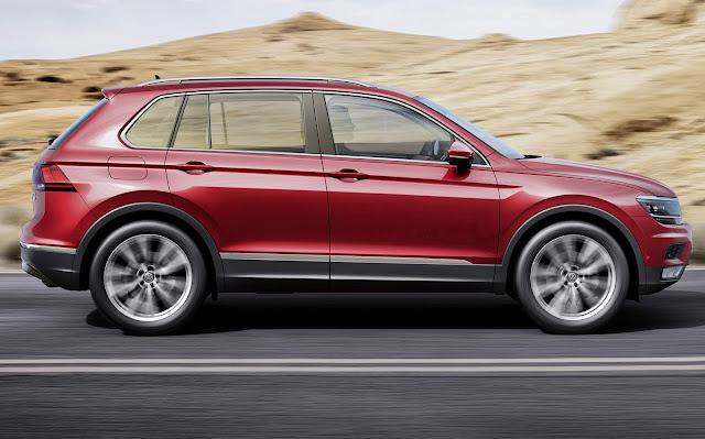 novo VW Tiguan 2016