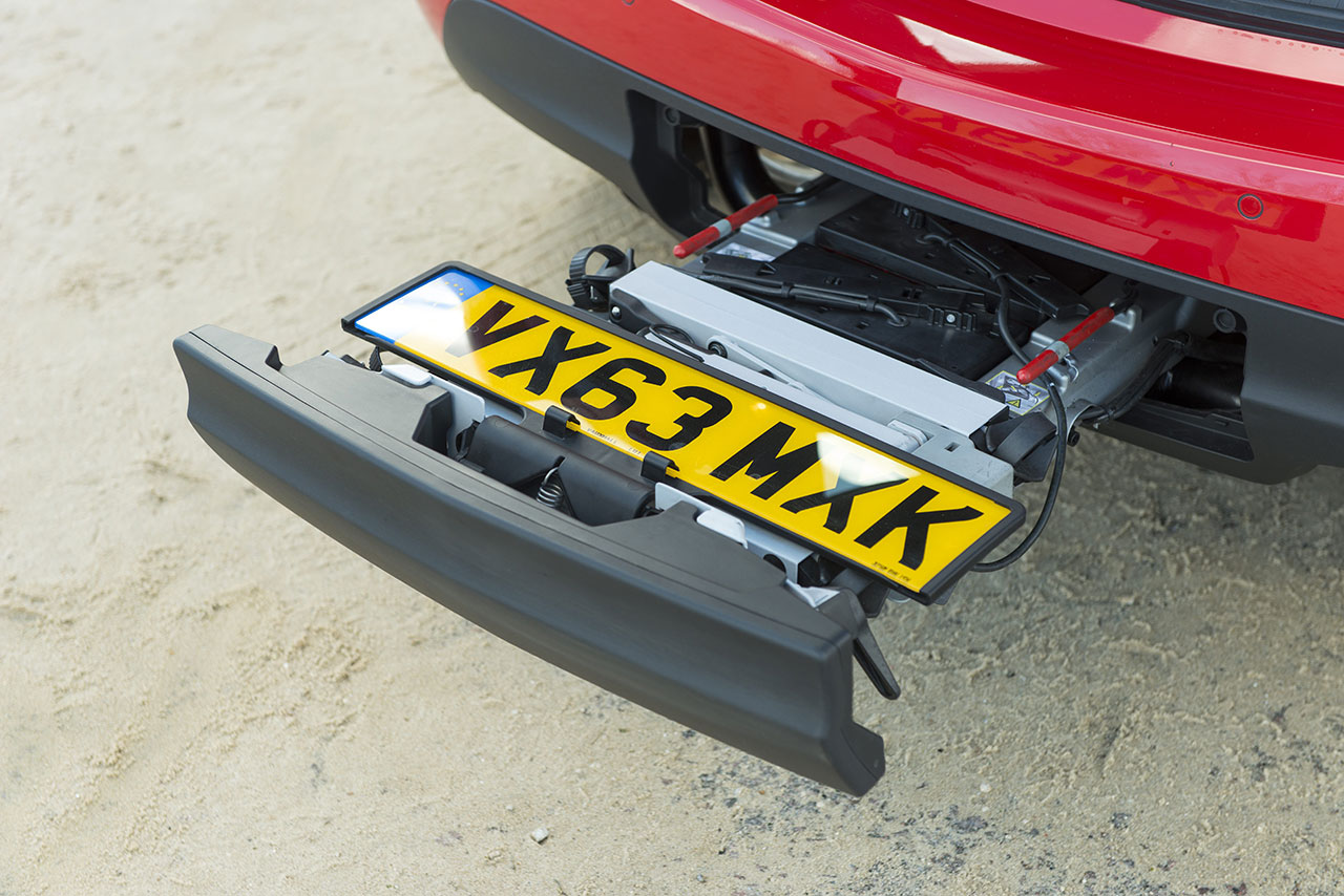 Vauxhall Meriva detail