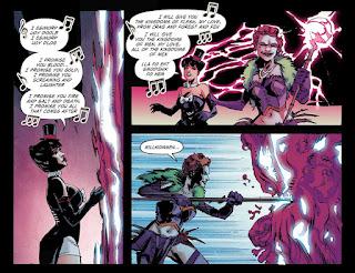 Page 11 of DC Comics Bombshells #7 featuring Zatanna and Joker's Daughter