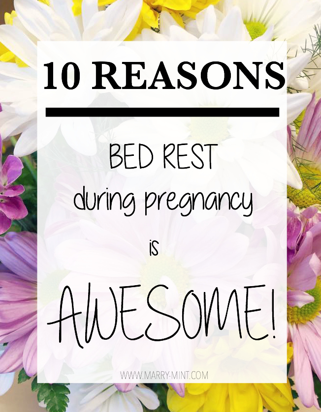 bed rest during pregnancy