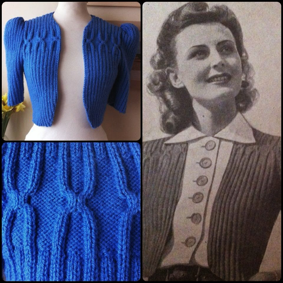 1940\'s Style For You: Beautiful 1940\'s Bolero – Bestway 900