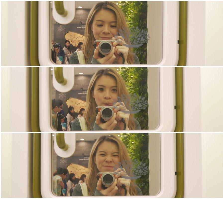Girl at Innisfree Malaysia