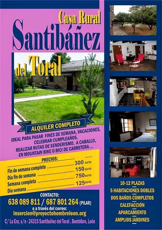casa rural santibañez toral