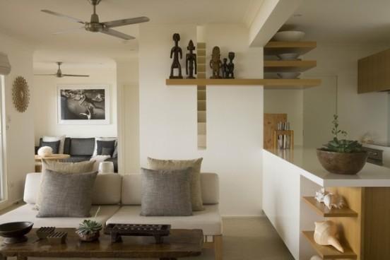 Imbiancare casa idee idee per imbiancare le pareti di un soggiorno etnico for Decoraciones modernas para casas