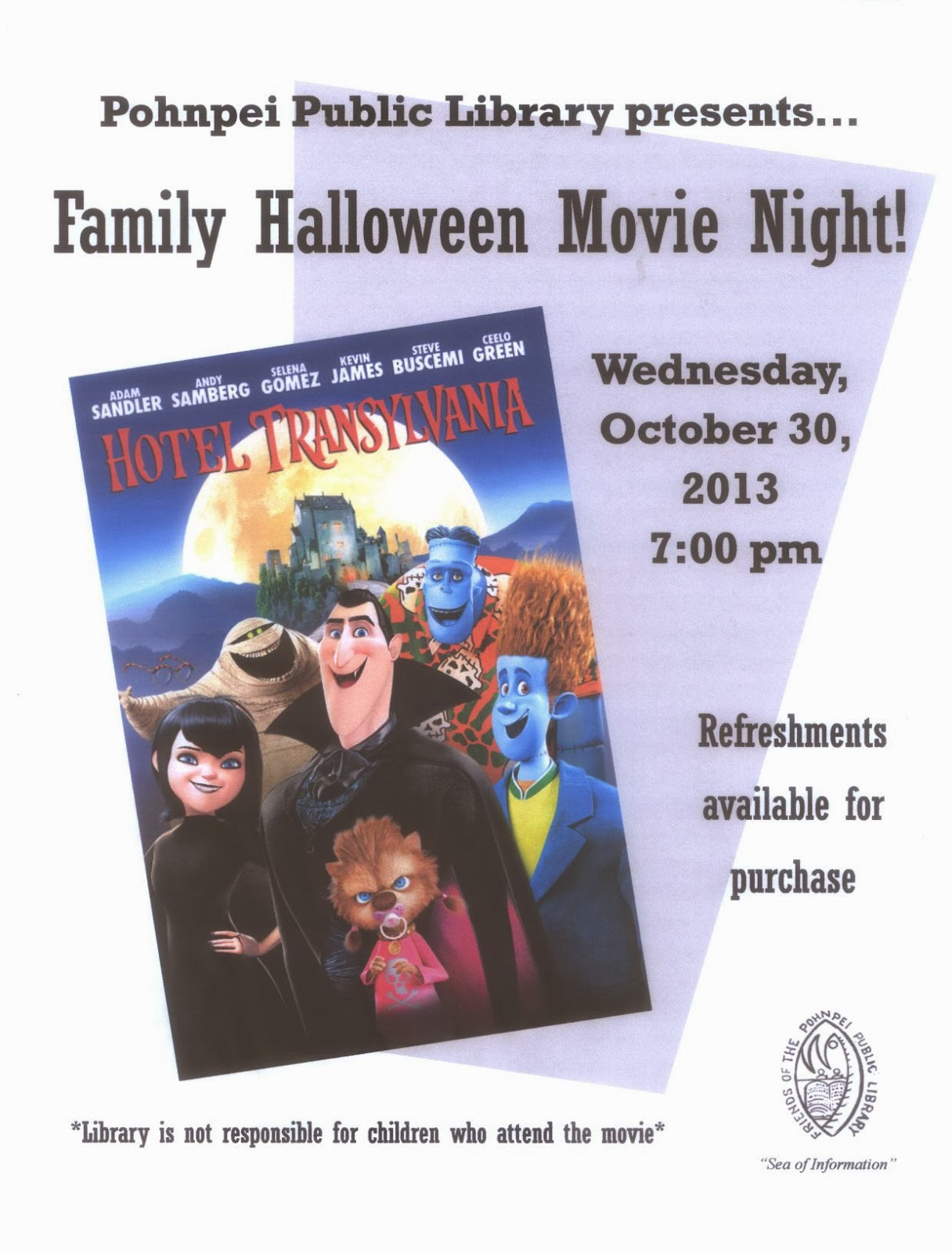 family movie night pohnpei public library pohnpei