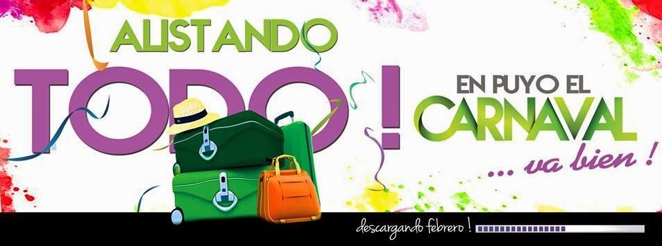 Programa de fiestas Carnaval Puyo 2015