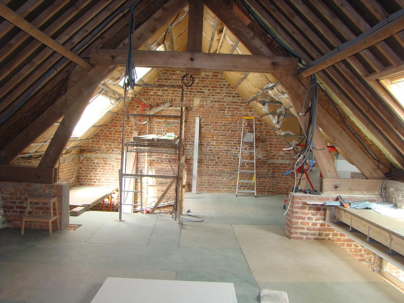 Blog sur la r novation de notre grange reprise de l int rieur isolation de - Blog renovation grange ...