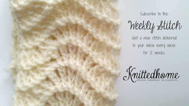Weekly Stitches | theknittedhome.com