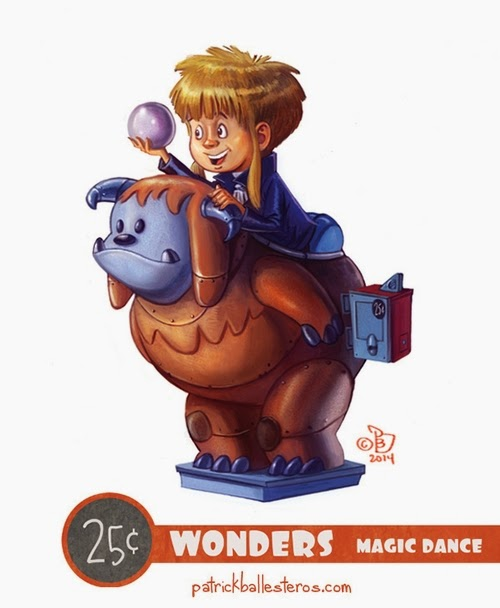 13-Labyrinth-Patrick-Ballesteros-25-Cent-Wonders-Drawings-www-designstack-co