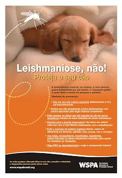 PREVENÇÃO LEISHMANIOSE- WSPA