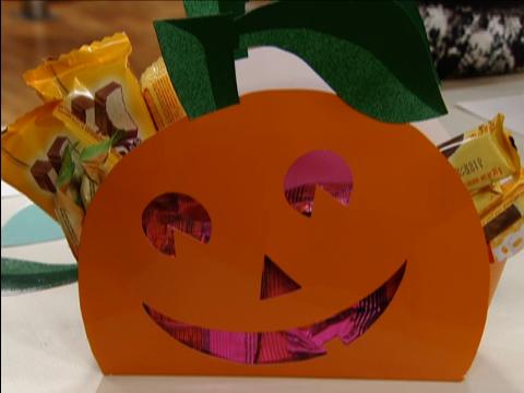 Embalagem de papel para o halloween