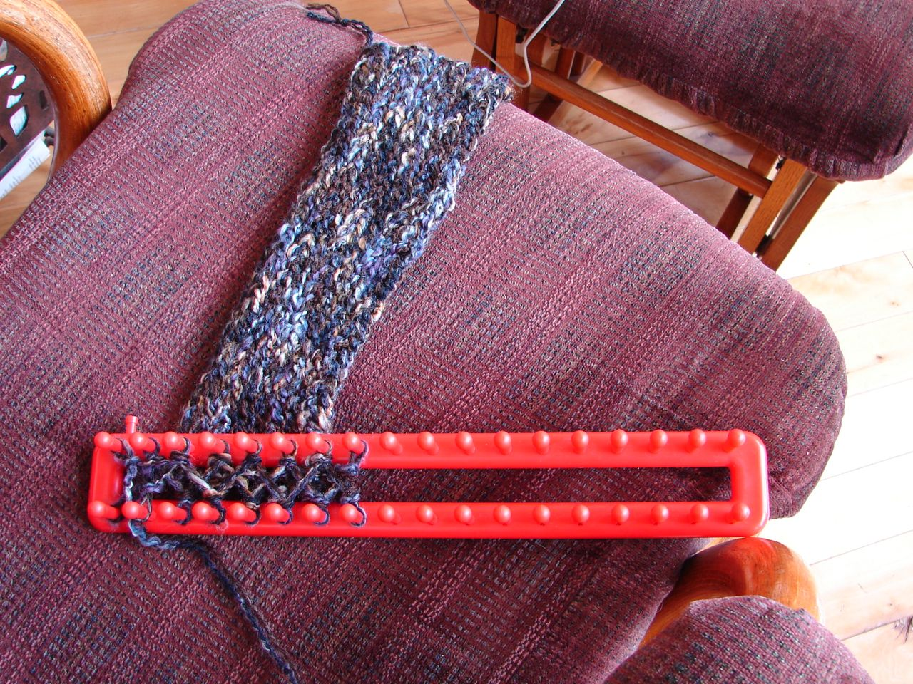 Knitting Knobby Projects : Amy s passions garden layout the knitting loom