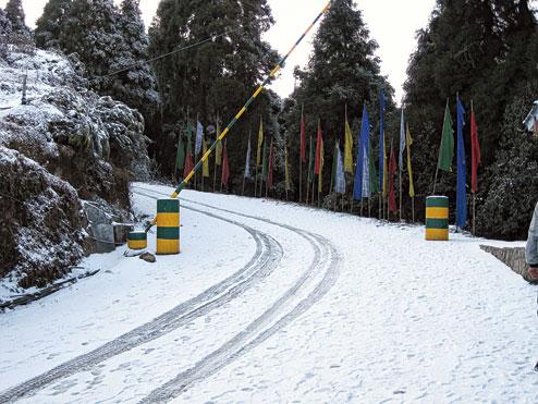 Darjeeling Tiger Hill in winter