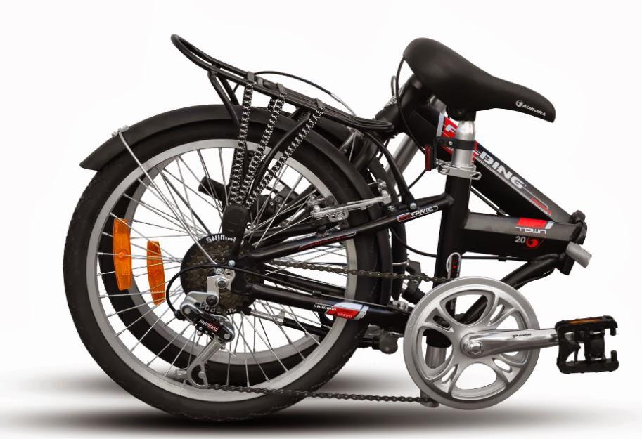 Bicicleta Plegable Plegabici Plegada