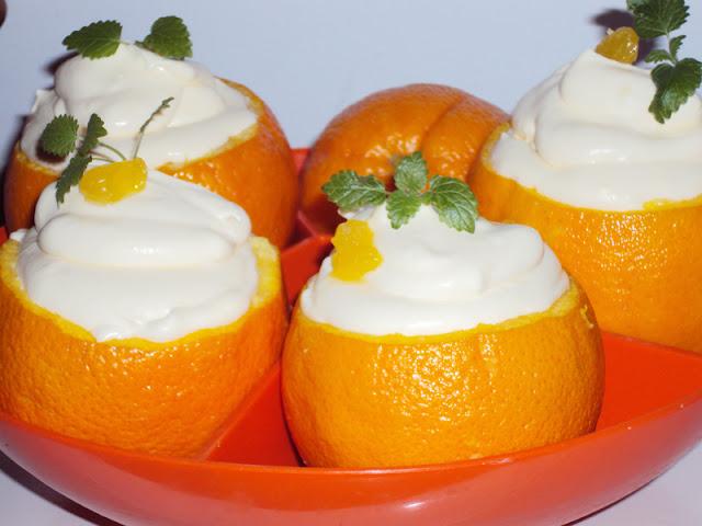 Mus pomarańczowy w skórkach