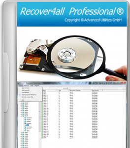 Recover4all Professional 2.18 with Serial Key Free Download