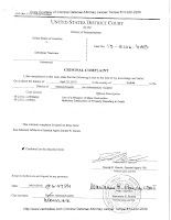 bombing, Criminal Complaint Boston Marathon, terrorism, United States District Court,