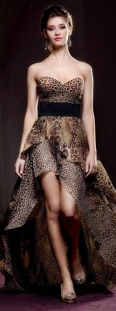 Leopard Color Maxi Dress