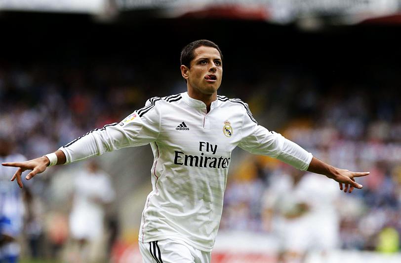 'Chicharito' recuerda que llegó a Real Madrid para hacer goles.