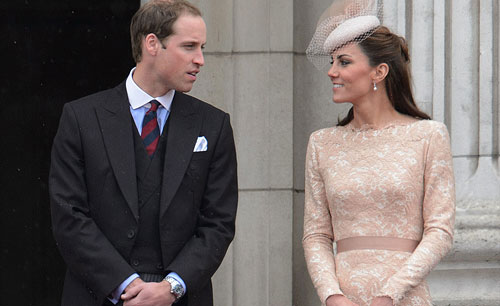 Putera William dan isterinya, Kate Middleton.