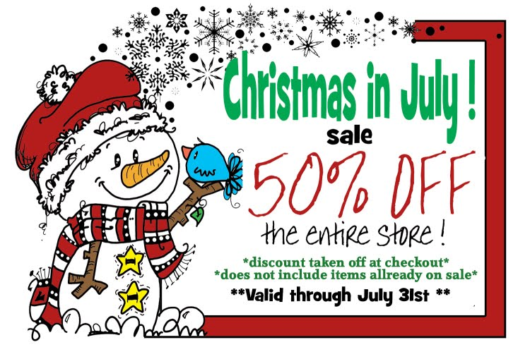 Christmas in July special