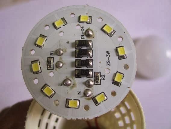 Toko Energi Terbarukan Membuat Lampu Led 220v