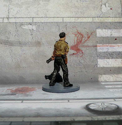 Zombicide Survivor painted Phil the Cop Zombie Walking Dead