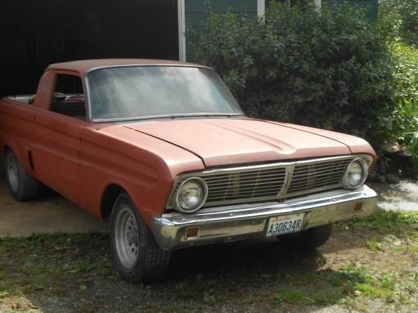 Restoration Project Cars 1964 Ford Ranchero Project