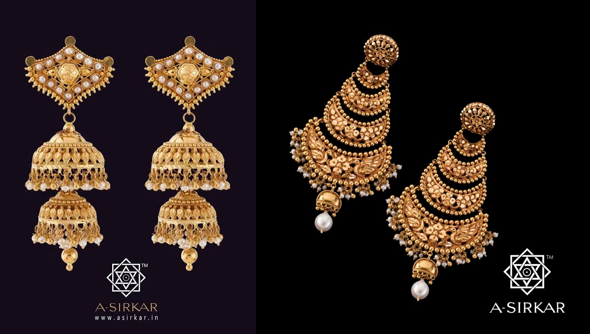 Bengali bridal gold jewellery - Elegant Eves Bengali Bride Image Courtesy A Sirkar Co Jewellers