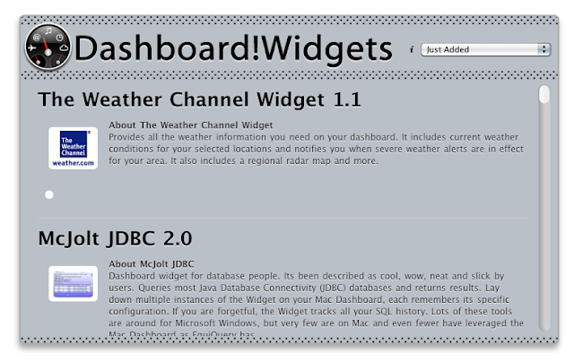 15. Dashboard!Widgets