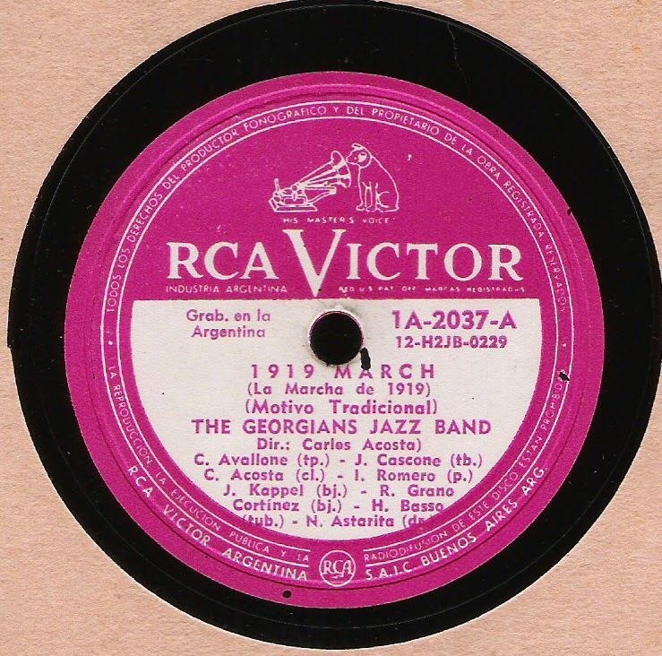 The Georgians Jazz Band - Rca Victor 12-H2JB-0229 (1957)