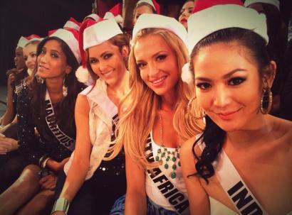 Maria Selena di ajang Miss Universe 2012