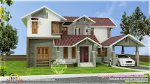 House Sloping Roof Kerala