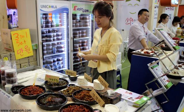 Salsas y productos fermentados coreanos