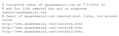 bad spam links