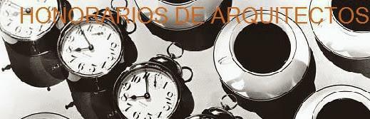 HONORARIOS DE ARQUITECTO