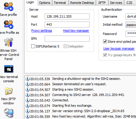 SSH Account Server Singapura (SG.DO) Gratis 19 Oktober 2014