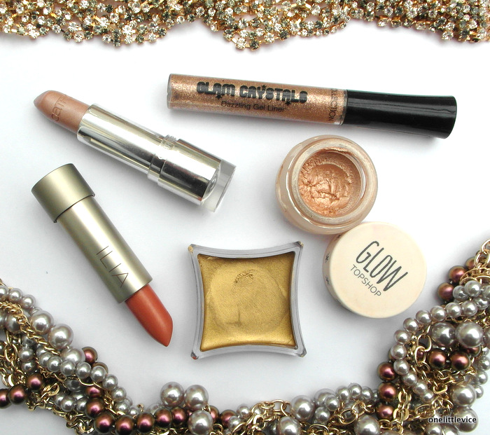OneLittleVice Beauty Blog: how to wear metallic makeup