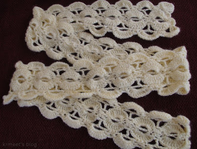 Free pattern for crocheted scarf