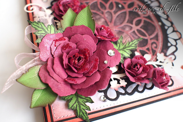 Sheena victorian floral poppy
