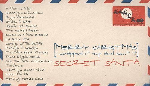 "Free Printable Secret Santa Wish List I love the ""secret"" behind it"
