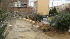 Desastre medioambiental en la plaza de Calicanto