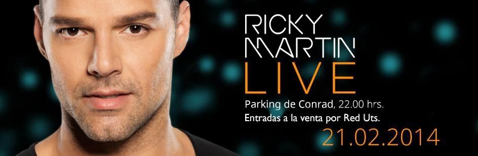Ricky Martin en Conrad