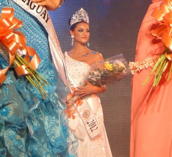 Miss International Internacional Paraguay 2012 winner Nicole Elizabeth Huber Vera