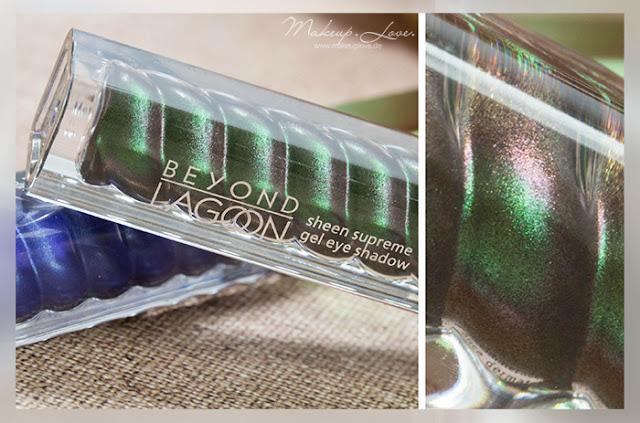 p2 beyond lagoon LE review sheen supreme gel eye shadow hidden treasure swatch